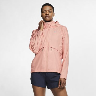 Nike Essential nedpakkbar løperegnjakke til dame