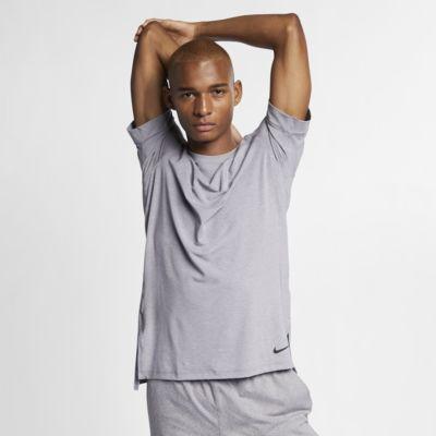 Nike Dri-FIT Men's Short-Sleeve Yoga Training Top