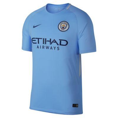 Мужское футбольное джерси 2017/18 Manchester City FC Stadium Home  - купить со скидкой