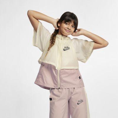 """Vattenavvisande windbreaker Nike Sportswear Windrunner """"Translucent"""" för ungdom (tjejer)"""