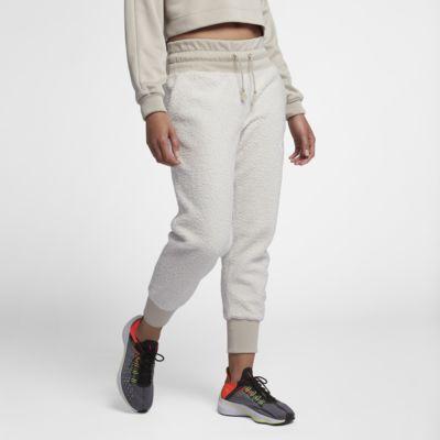 Nike Sportswear NSW Jogger de tejido Sherpa - Mujer