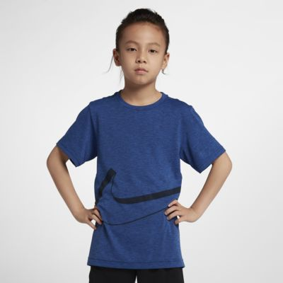 Nike Dri-FIT Breathe Big Kids' (Boys') Short Sleeve Training Top