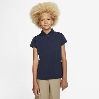 Nike Dri-FIT Big Kids' (Girls') Golf Polo