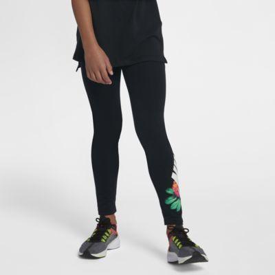 Leggings med blomtryck Nike Sportswear för ungdom (tjejer)