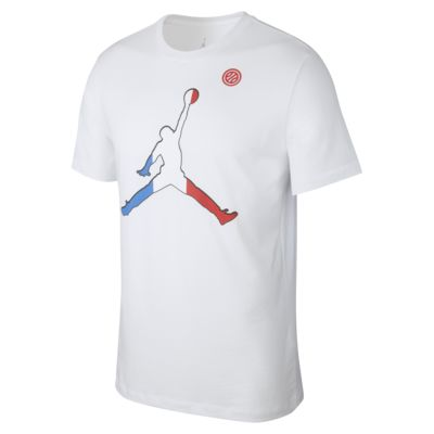 France Jordan Basketball-T-Shirt für Herren