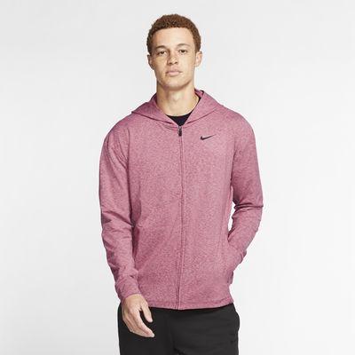Nike Dri-FIT Yoga-Trainings-Hoodie mit durchgehendem Reißverschluss für Herren
