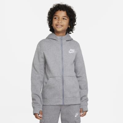 เสื้อมีฮู้ดซิปยาวเด็กโต Nike Sportswear (ชาย)