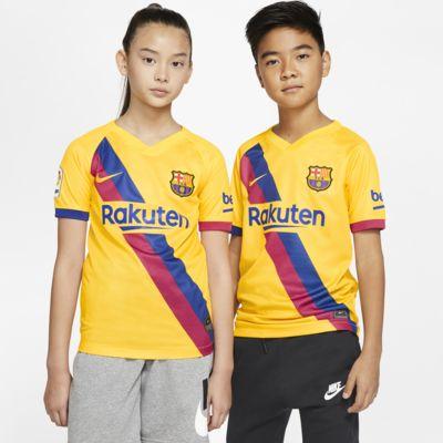FC バルセロナ 2019/20 スタジアム アウェイ ジュニア サッカーユニフォーム