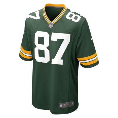 NFL Green Bay Packers (Jordy Nelson) Erkek Amerikan Futbolu İç Saha Maç Forması