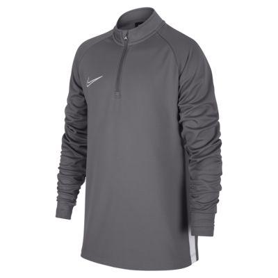 Prenda para la parte superior para ejercicios de fútbol para niños talla grande Nike Dri-FIT Academy