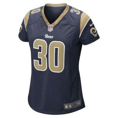 NFL Los Angeles Rams Game Jersey (Todd Gurley) Women's Football Jersey