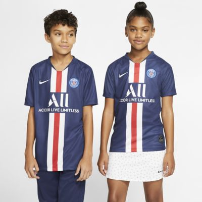 Paris Saint-Germain 2019/20 Stadium Home Fußballtrikot für ältere Kinder