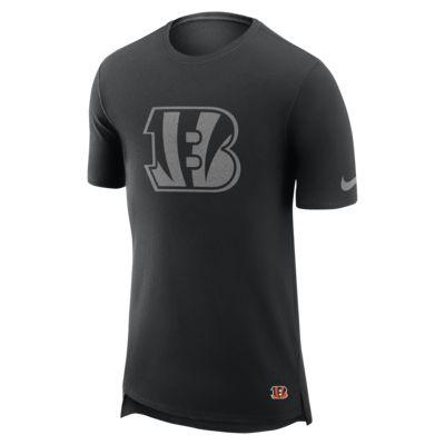 Nike Enzyme Droptail (NFL Bengals) férfipóló