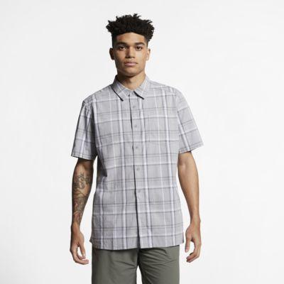 Męska koszula z krótkim rękawem Hurley Frankie Stretch