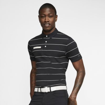 Nike Dri-FIT Player Çizgili Erkek Golf Polo Üst
