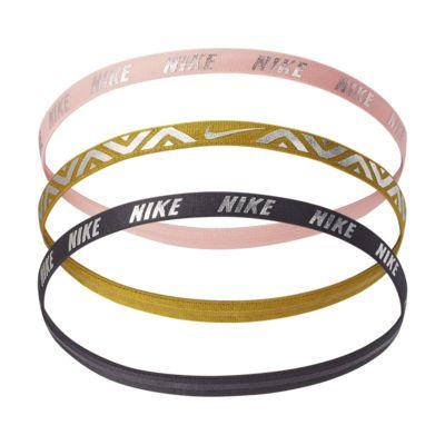 Nike Metallic 发带(3 条)