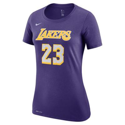 เสื้อยืด NBA ผู้หญิง Los Angeles Lakers Nike Dri-FIT