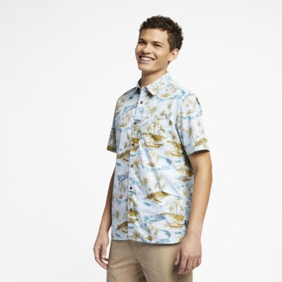 Camisa Hurley Outrigger Smiley para homem