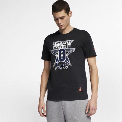 """ジョーダン x RW """"Why Not?"""" メンズ Tシャツ"""