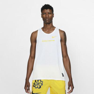 Camiseta de tirantes de running con estampado para hombre Nike Rise 365