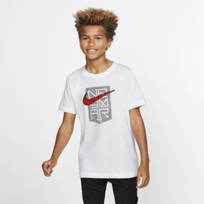 Neymar Jr.-T-shirt til store børn