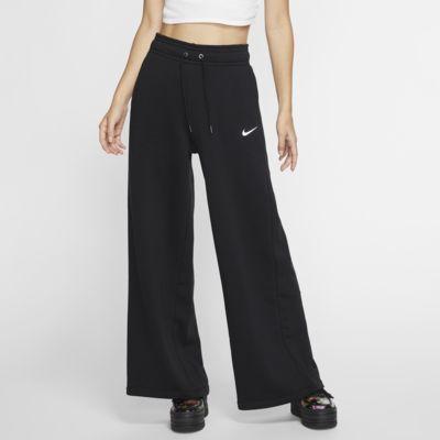 Damskie spodnie z dzianiny z szerokimi nogawkami Nike Sportswear