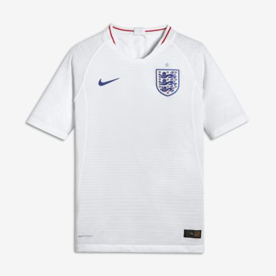 2018 England Vapor Match Home Older Kids' Football Shirt