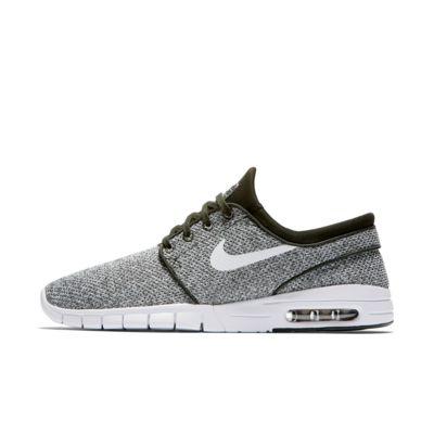Nike SB Stefan Janoski Max L Men's Skateboarding Shoes Grey/White zY1355L