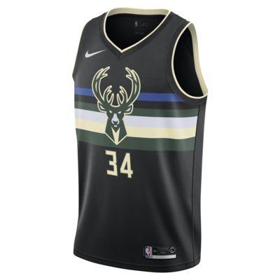 Φανέλα Nike NBA Swingman Giannis Antetokounmpo Bucks Statement Edition