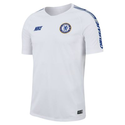 Nike Breathe Chelsea FC Squad Men's Short-Sleeve Football Top