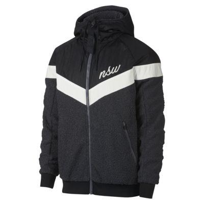 Chamarra de Sherpa para hombre Nike Sportswear Windrunner