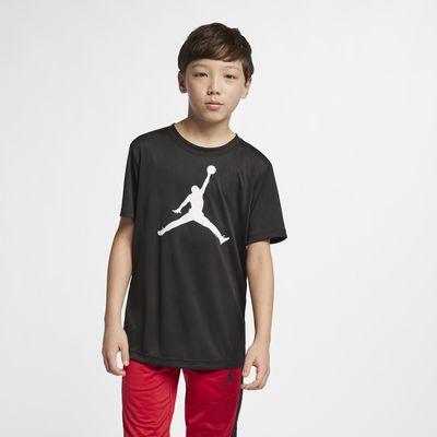 T-Shirt Jordan Dri-FIT για μεγάλα αγόρια