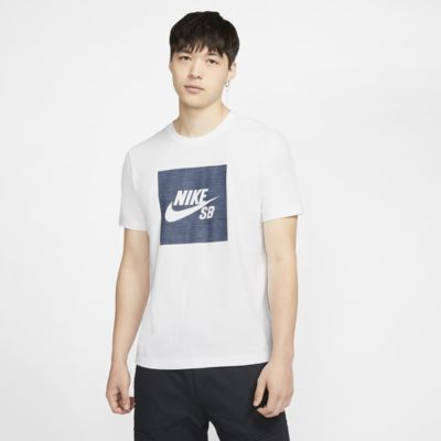 Nike SB Logo Chambray 男子滑板T恤