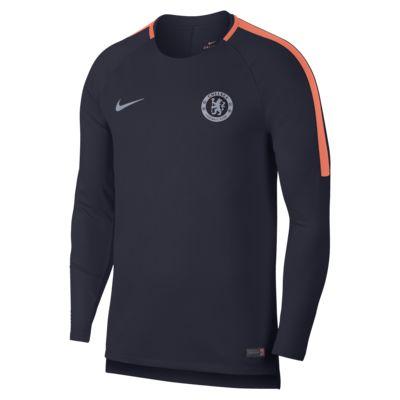 Chelsea FC Dri-FIT Squad Men's Long-Sleeve Football Top