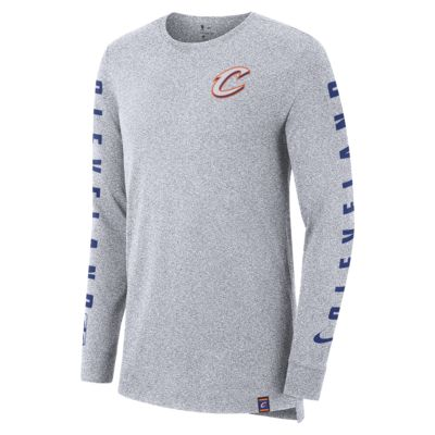 Cleveland Cavaliers City Edition Nike Men's Long-Sleeve NBA T-Shirt