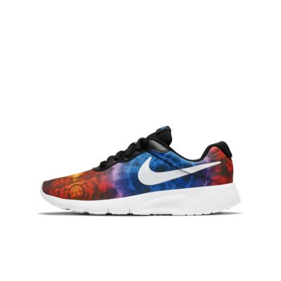 Nike Tanjun Print Big Kids' Shoe