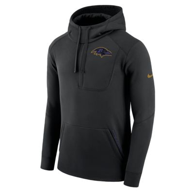Nike Fly Fleece (NFL Ravens) Men's Sweatshirt Hoodie