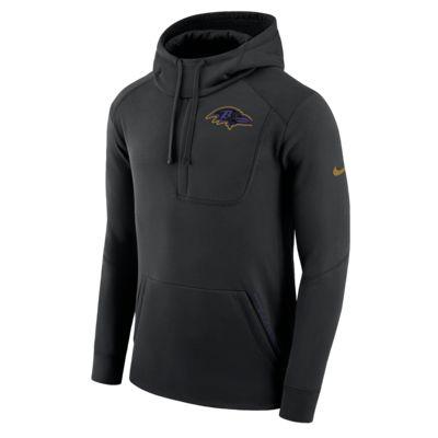 Sweat à capuche Nike Fly Fleece (NFL Ravens) pour Homme