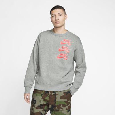 Skatetröja Nike SB Icon i fleece för män