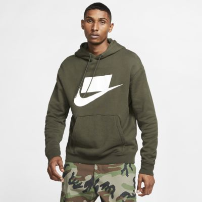Mikina Nike Sportswear NSW z francouzského froté s kapucí