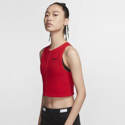 Nike Dri-FIT 女款網布跑步背心