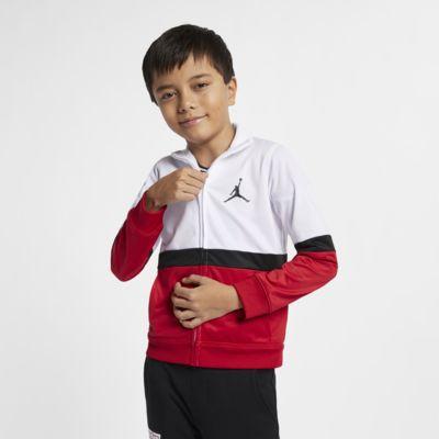 Jordan Sportswear Diamond-jakke med lynlås til små børn