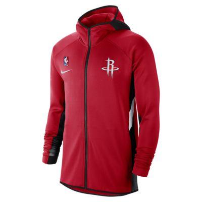 Мужская худи НБА Houston Rockets Nike Therma Flex Showtime