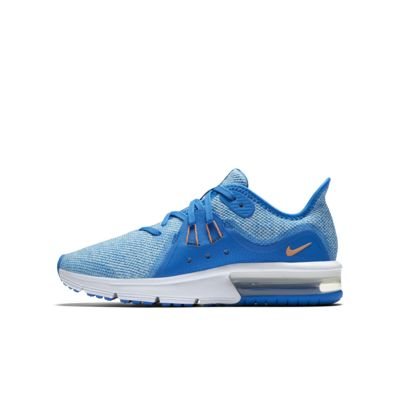 Кроссовки для школьников Nike Air Max Sequent 3  - купить со скидкой