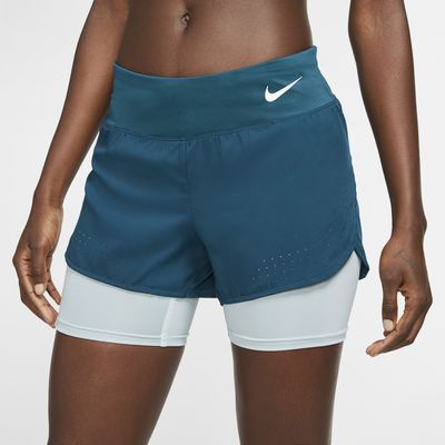 Nike Eclips 2-in-1 hardloopshorts voor dames