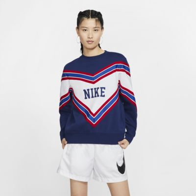 Fleecetröja med rund hals Nike Sportswear NSW för kvinnor