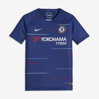 2018/19 Chelsea FC Stadium Home Older Kids' Football Shirt
