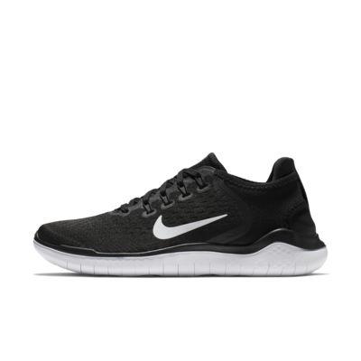 Zapatillas Casual Niña Nike Free Rn 2018 Negras Blancas