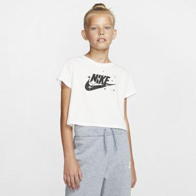Krótki T-shirt dla dużych dzieci (dziewcząt) Nike Sportswear