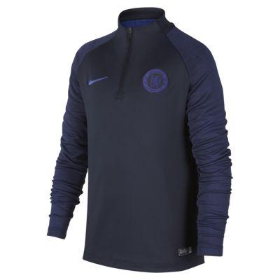 Ποδοσφαιρική μπλούζα προπόνησης Chelsea FC Strike για μεγάλα παιδιά